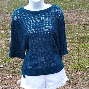 United States sweaters open weave 3/4 slee…